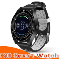 Wholesale grass box resale online - Smart Watch R10 Bluetooth Smart Watches IPS x240 HD Circular Display Smartwatches Sleep Monitor Music Player For Android IOS With Box
