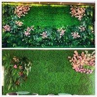 поддельные коврики оптовых-Искусственный газон Искусственный газон Искусственный газон Коврик для корма для домашних животных 40 * 60см25 * 25см12,5 * 12,5 см Пластиковый аквариум Поддельный газон