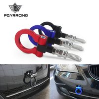 KKmoon Racing Car Auto Towing Tow Hook Kit Trailer Ring Eye for BMW