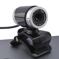 definición de la computadora usb al por mayor-El más reciente USB Webcam 12 megapíxeles de alta definición cámara Web Cam 360 grados MIC con clip para el escritorio del ordenador Skype