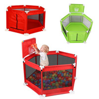 Wholesale pool fence for sale - Group buy Folding Kids Playpen Baby Fence Safe Barrier for Bed Ball Pool Years Children s Playpen Oxford Cloth Pool Balls Child Fence