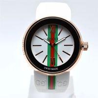 кварцевый хронограф швейцарский оптовых-Топ мода женщины швейцарские часы мужчины хронограф кварцевые часы Спорт дата высокое качество наручные часы AAA топ дизайн хороший часы резиновая лента