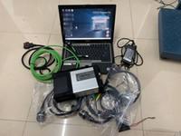 conector wifi obd2 al por mayor-MB STAR C5 para conectores Benz obd2 SD C5 y 2019.03 DTS Xentry SSD 360G con D630 Laptop 4g herramientas de diagnóstico de automóviles