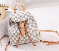okul çantası çantası toptan satış-2019 yeni moda kadın kız okul çantası kadın omuz çantaları ile ünlü sırt çantası tarzı çanta çanta L20 çanta