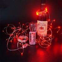 lampe bricolage étoiles achat en gros de-Lumières de Noël étoile Halloween lumières décoratives Led lampe chaîne Usb télécommande 8 Fonction de fil de cuivre lampe à cordes