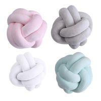 Wholesale handmade cushion dolls for sale - Group buy Creative cm Knotted Ball Cushion Throw Pillow Waist Back Cushion Home Sofa Bed Decor Dolls Toys For Kids