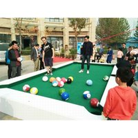 бассейн для ног оптовых-1 Set Poolball Kicking Snooker Pool Billiards Use Feet instead of Cues 16pcs Balls 20CM Diameter Total 6.5Kgs. for 5-7 Players