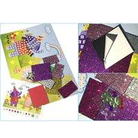 ingrosso puzzle adesivo eva diy-Puzzle educativo per bambini Fai da te Cartone animato Schiuma animale Mosaico Adesivi Crysta Art EVA Sticker Creativo Giocattoli per bambini all'asilo