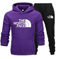 mens spor eşofmanı toptan satış-Kuzey winte Tasarımcı Eşofman Erkekler Lüks Ter Takım Elbise Sonbahar Marka Erkek Jogging Yapan Ceket + Pantolon Suits Setleri Sporting KADıN Takım Hip Hop Setleri