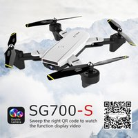 Wholesale 2.4ghz drone for sale - Group buy Sg700 s Drone ghz ch Wide angle Wifi k Optical Flow Dual Camera Rc Helicopter Rc Quadcopter Selfie Drone With Camera Hd T190621