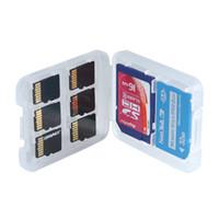 Tarjeta de memoria antichoque Impermeable Caja de almacenamiento las tarjetas 12+12TF Caja