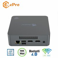 wifi grafik großhandel-Beelink U55 MINI PC In i3-5005U Dual Core 8 GB 256 GB 8 GB 512 GB Beelink U55 HD Graphic 5500 Win10 2.4G 5.8G WIFI MINI PC BT4.0