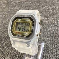 ingrosso orologi freddi-moda casual orologio 5600 delle donne di lusso della vigilanza di sport studente visualizzazione fredda luce orologio da uomo Digital LED