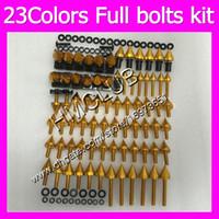 Wholesale fairing bolts zx resale online - Fairing screws Full bolts kit For KAWASAKI NINJA ZX2R ZXR250 ZX R ZXR ZX R MC3 OEM Body Nuts bolt screw Nut kit