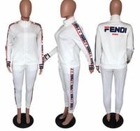 спортивные легкие legging оптовых-A8071 женская толстовка с капюшоном леггинсы 2 шт. Комплект одежды с длинным рукавом спортивный костюм куртка брюки спортивная верхняя одежда колготки спортивный комплект горячий