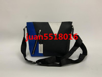 Wholesale documents cover resale online - 2019 New Genuine Leather Bags Crossbody Messenger Bag Leather Office Bags for Men Document Briefcase Travel Bags