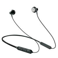 ingrosso auricolari pesanti-Sport Bluetooth 5.0 Stereo Heavy Bass In Ear Cuffie HIFI Hanging Ear Vivavoce Cuffie Bluetooth senza fili con microfono Neck Monted Earbuds
