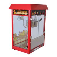 Wholesale machines maker for sale - Group buy Commercial ETL CE Electric Popcorn Maker automatic popcorn machine Big Corn Popper Machine with big volume oz serier