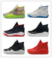 ingrosso scarpe pasquali kd-2019 Mens KD 12 scarpe da basket mvp Nero Bianco Argento Squadra Oro Rosso Rosa Pasque KD12 Kevin Durant XII Sneakers