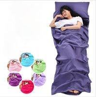 pique-nique achat en gros de-hôtel Sac de couchage Sac de couchage pour le voyage en plein air Randonnée Hôtels Linge de lit anti-pique-nique LJJK1150