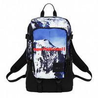 ingrosso il sacchetto pack pack campeggio esterno-Brand New Snow Mountain Designer Zaino Uomini Donne Designer Borse Unisex Studenti Borse Camping Bag Outdoor Packs