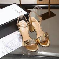 пляжный флип-флоп на высоких каблуках оптовых-GG с коробкой NW дизайн женщины натуральная кожа шпильки высокие каблуки сандалии 34-40 тапочки слайд сандалии унисекс открытый пляжные шлепанцы 7 цветов