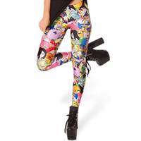 Wholesale leggings time resale online - X Adventure Time Jake Leggings Fashion New Women Cartoon Pants S M L Xl good quality