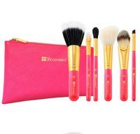 Wholesale cosmetic brushes bag resale online - Makeup Brush set Portable Eyeshadow Powder Foundation Blush Cosmetic Brushes With bag Makeup Beauty Kit GGA1910