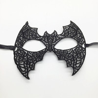 Wholesale batman costumes for sale - Batman Lace Masquerade Mask for Carnival Halloween Masquerade Half Face Ball Party Masks Fancy Dress Costume