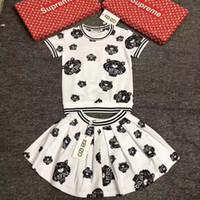 kızlar gazlı bez prenses etek toptan satış-Bebek Çocuk Giyim seti Kız çocuk Konfeksiyon Çocuk Etek 2019 Yaz Yeni Desen Dantel Elbise Çocuk Içinde Prenses Gazlı Bez 0224
