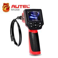câmera de inspeção autel venda por atacado-Autel Maxivideo MV208 Digital Videoscope com 8,5 mm de diâmetro imager cabeça câmera de inspeção MV 208 Multipurpose Videoscope