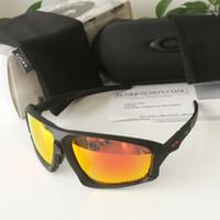 güneş gözlüğü holbrook toptan satış-ALAN CEKETI Marka Polarize erkek tasarımcı güneş gözlüğü Dağ Bisikleti Gözlük Bisiklet Gözlük açık spor güneş gözlüğü kutusu ile 9402 holbrook