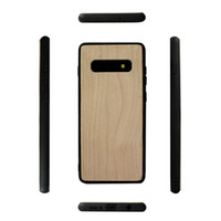 Wholesale samsung solid phone online – custom Eco friendly Solid Wood Case For Samsung Galaxy S10 S10lite S10 PLUS s10e Mobile Phone Case Wooden Bamboo Soft TPU Shock proof Bumper Cover