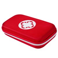 Wholesale outdoor medical bags resale online - New Brand Red First Aid Kit Emergency Survival Medical Rescue Bag For Home Outdoor Treatment Case Storage Bags