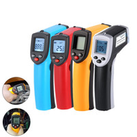 Wholesale infrared laser thermometer gun for sale - Group buy GM320 Infrared Thermometer Laser LCD Digital Temperature Thermometer Profeesional Non Contact Pyrometer IR Laser Point Gun degree