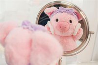 ingrosso bambole rosa-20170617 Lovely 25cm Peluche Doll Peluche Ins Ins Cute Pink Girl Cute Pig Baby San Silvestro