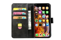 Wholesale money clip leather case for sale - Group buy Detachable in leather Magnetic wallet Phone Case Cover With card slot and money clip For IPhone Samsung Phone