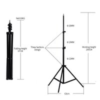 Wholesale light stand for flash for sale - Group buy Light Stand Tripod Holder With Screw Head For Photography Studio Softbox Video Flash M Quality assured Photography lighting Tripod