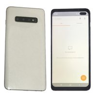 teléfonos wcdma gsm dual sim al por mayor-Goophone S10 + 6,5 pulgadas HD Goophone S10 Plus Cara Iris ID WCDMA 3G GSM 2G Quad Core RAM 1GB ROM 16GB Android 9.0 El teléfono puede mostrar 8 + 512GB 5G