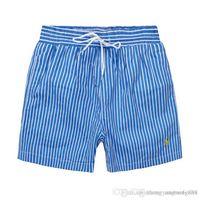 ingrosso costumi da bagno-Spedizione gratuita Quick Dry 2019 Mens Beach Shorts Marca Mens Shorts Casual Costumi da bagno Costumi da uomo Hip Hop Mens Bermuda