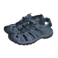 Wholesale quick drying shoes men for sale - Group buy Men Sandals Summer Male Outdoor Sandals Breathable Beach Shoes Quick Dry Protective Toecap Walking Lazy Shoes Large Size