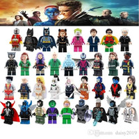 Wholesale batman toys for kids resale online - Super Heroes Batman Robin Professor X Man Colossus Joker Penguin Toys For Kid