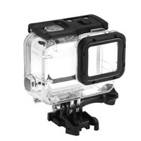 Wholesale gopro protective case for sale - Group buy Waterproof Case for GoPro Hero Black Hero Accessories Housing Diving Protective Shell Meter for GoPro Hero Silver White Cover