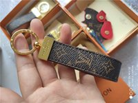 markalı anahtarlık toptan satış-Yüksek qualtiy Lüks Anahtarlık Anahtarlık Anahtarlık Tutucu Marka anahtarlık Porte Clef Hediye Erkekler Kadınlar Hediyelik Eşya Araba Çantası kutusu ile JAK89A