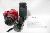 lente da câmera para pentax venda por atacado-PENTAX K-X KX CÂMERA DIGITAL PENTAX-DA L 18-55MM LENTES DE 55-300MM