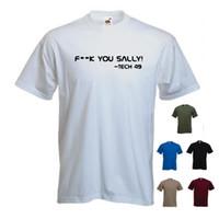 k film großhandel-'F ** k Sie Sally! - Tech 49 'Oblivion Film Tom Cruise T-Shirt T-Stück Geschenk. S-XXL