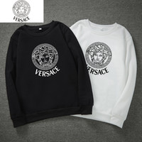 Wholesale eminem clothes resale online - Men s Fleece Hoodies Eminem Printed Thicken Pullover Sweatshirt Men Sportswear Fashion Clothing Winter Autumn Hooded Hoodies