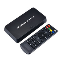 tarjetas xbox al por mayor-ezcap295 HD 1080P Grabador de captura de videojuegos Tarjetas de reproducción USB 2.0 con control remoto para Xbox 360 Xbox One PS4 Set-top box