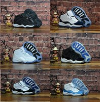 Wholesale gold boy toddler shoes resale online - Toddlers s Basketball Shoes Platinum Tint Prom Night Win Like UNC Win Like Gamma Blue Boys Girls Kids Sport Sneakers