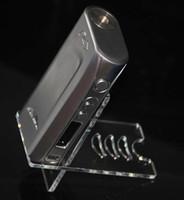 cuadro mod se encuentra al por mayor-Cigarrillo electrónico y soporte de exhibición de acrílico para vape mod mecánico mod mod vape claro titular de la pluma barato accesorios de cigarrillos electrónicos
